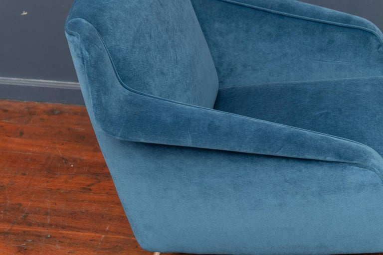 Carlo de Carli Lounge Chair for Singer & Sons In Good Condition For Sale In San Francisco, CA