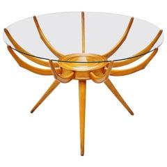 Carlo de Carli Ragno Coffee Table, Italy, 1950