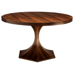 Carlo de Carli Round Table in Rosewood, circa 1960