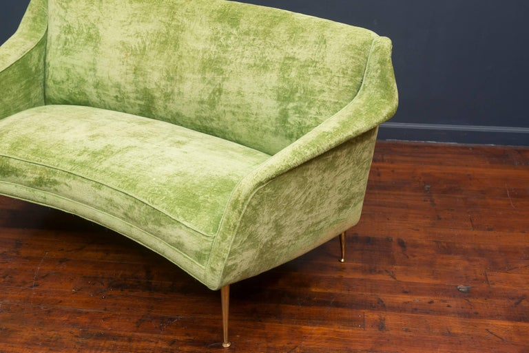 Carlo de Carli Settee, Model 159 for Singer & Son's In Excellent Condition For Sale In San Francisco, CA