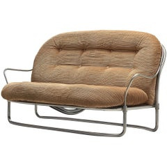 Carlo de Carli Sofa with Tubular Frame
