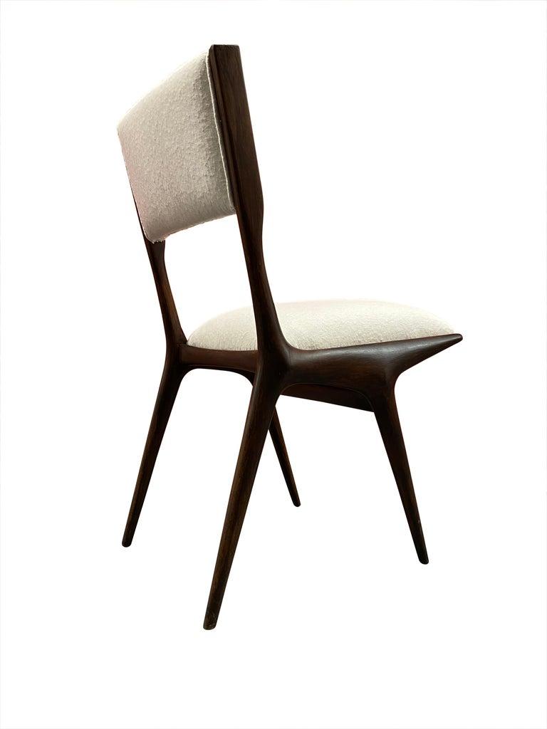 Mid-Century Modern Carlo de 'di' Carli 634 Chairs, Pair For Sale