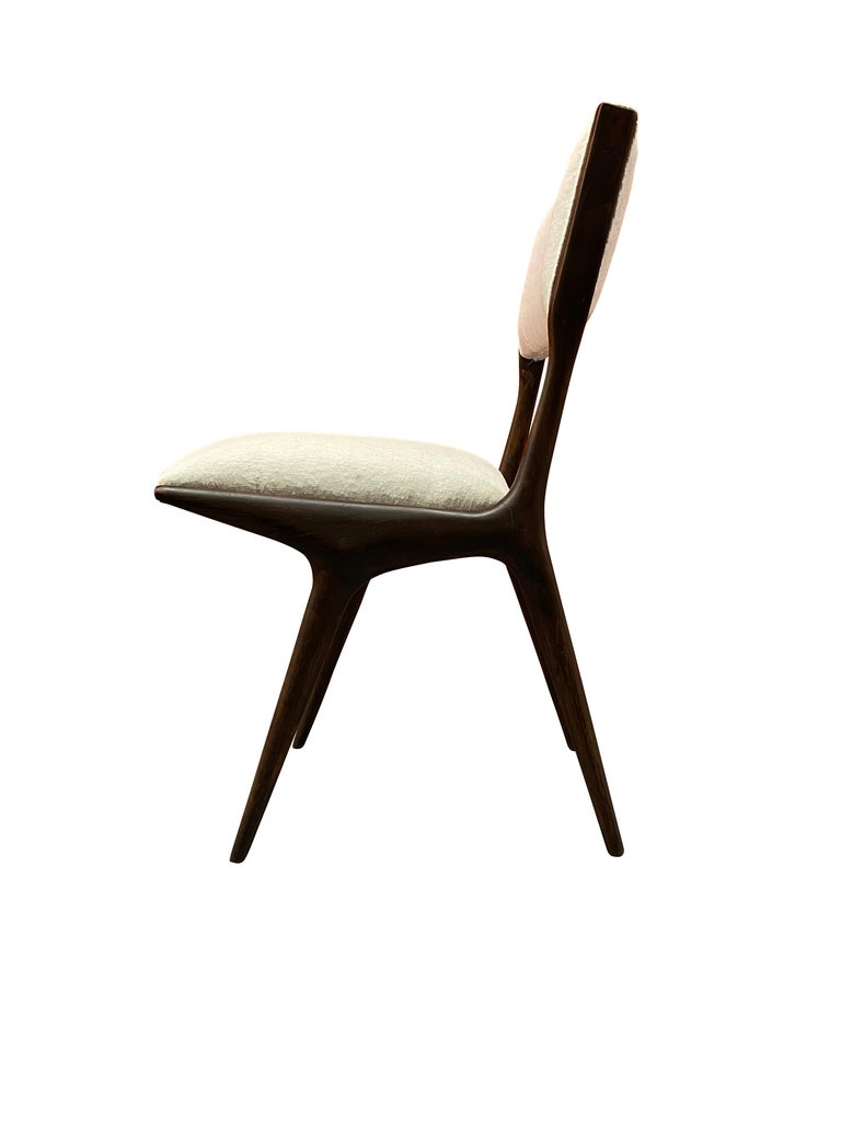 Italian Carlo de 'di' Carli 634 Chairs, Pair For Sale