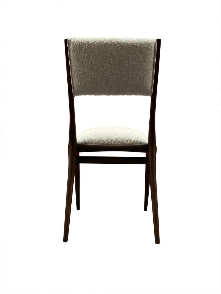 Mid-20th Century Carlo de 'di' Carli 634 Chairs, Pair For Sale