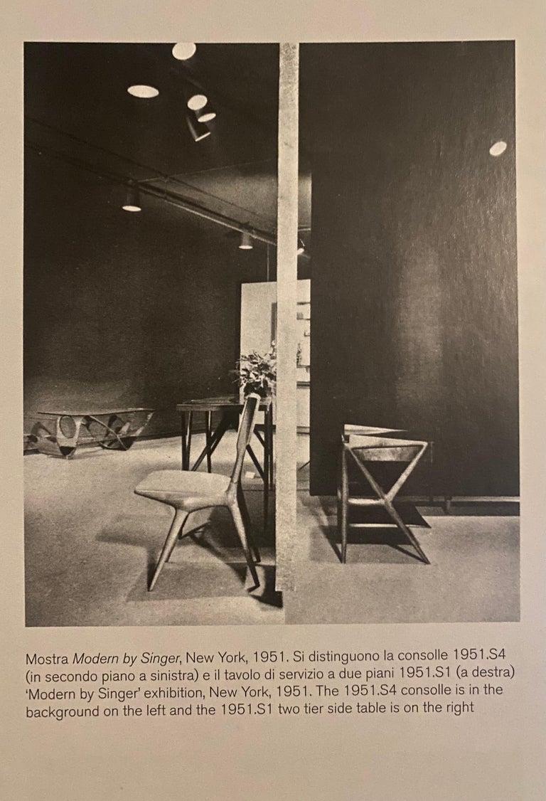 Carlo de 'di' Carli 634 Chairs, Pair For Sale 1