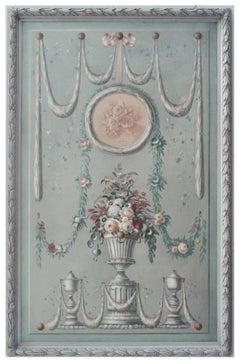 GROTESQUE - Italian oil on canvas painting, Carlo De Tommasi