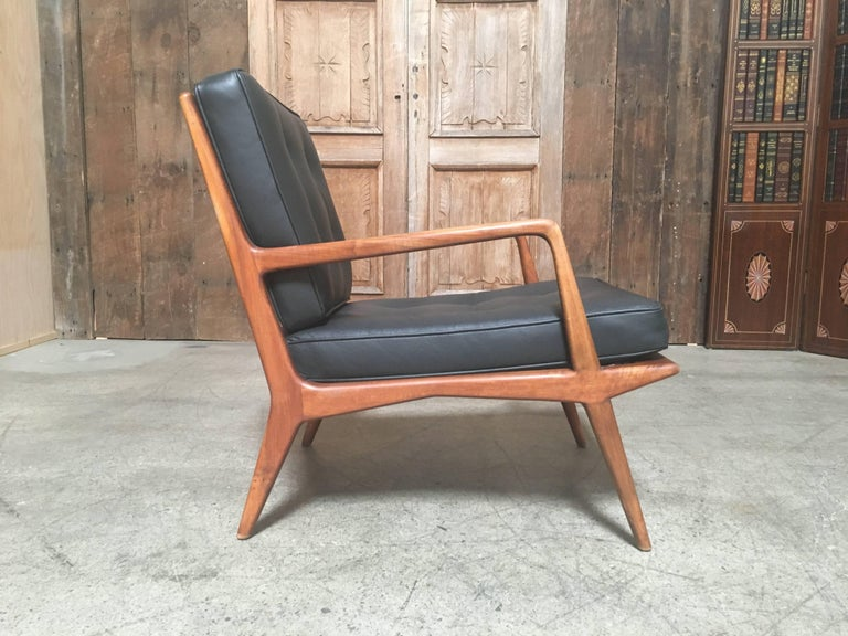 Carlo di Carli Lounge Chair for M. Singer & Sons, 1950s For Sale 3