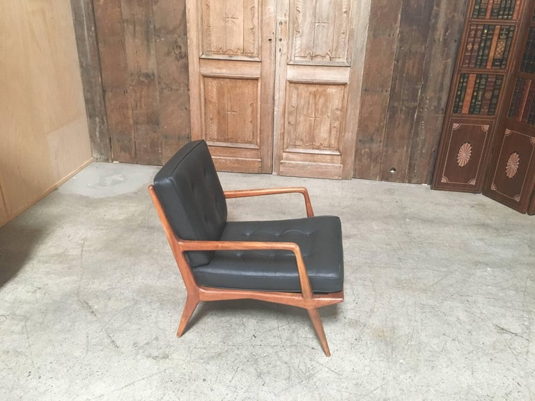 Carlo di Carli Lounge Chair for M. Singer & Sons, 1950s For Sale 4