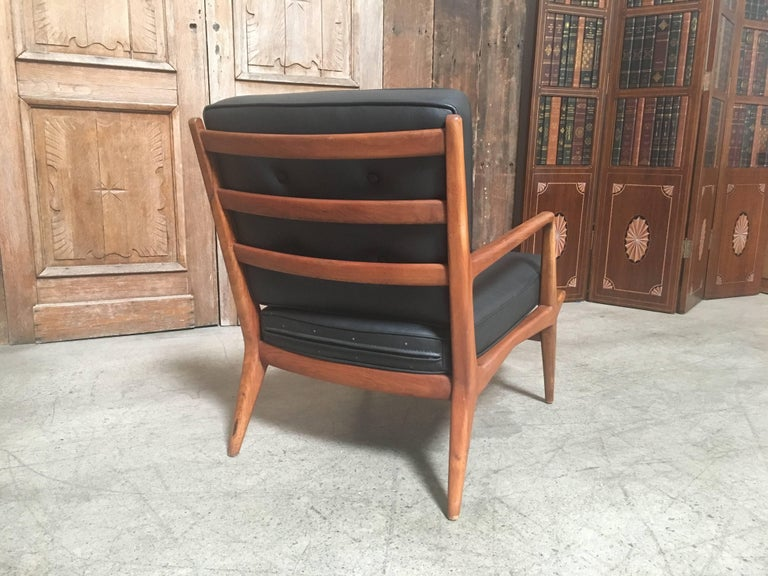 American Carlo di Carli Lounge Chair for M. Singer & Sons, 1950s For Sale