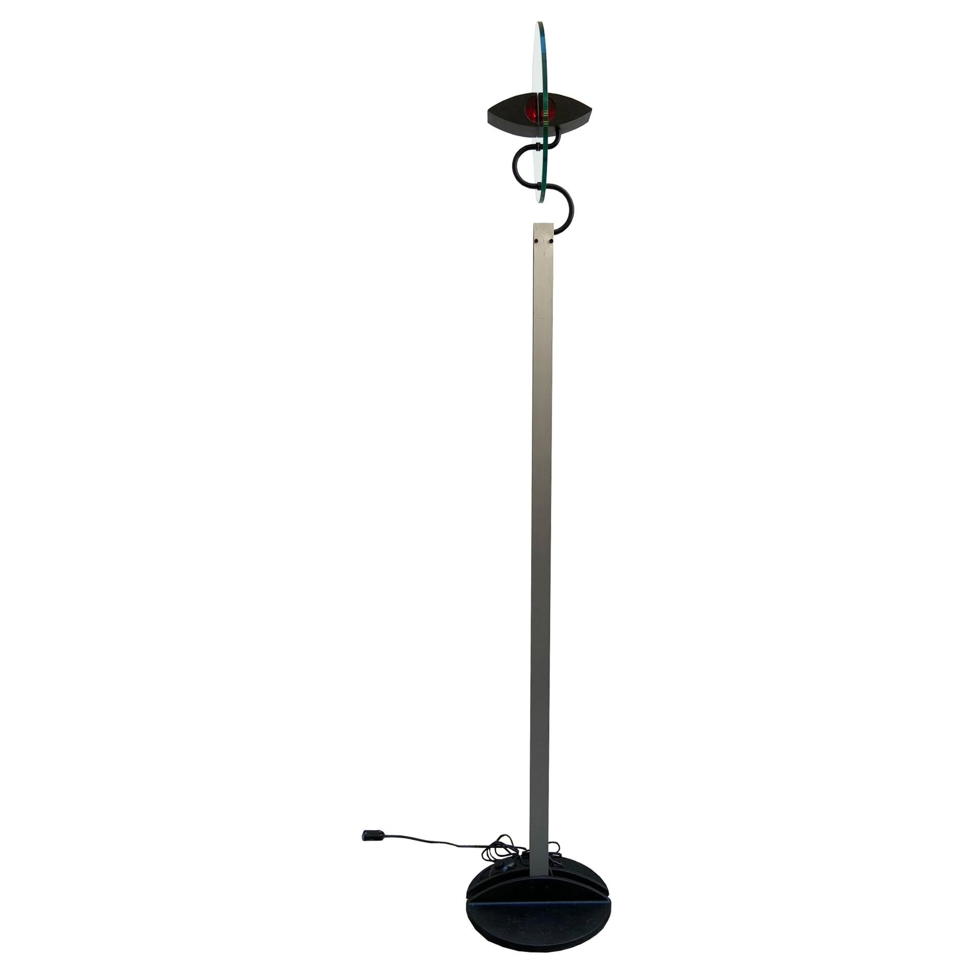 """Carlo Forcolini for Artemide """"Olimpia"""" Floor Lamp, Italy, 1980s"""