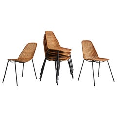Carlo Graffi & Franco Campo Dining Chairs