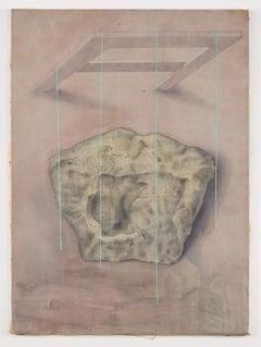 Untitled - Original Mixed Media by Carlo Guarienti - 1970s
