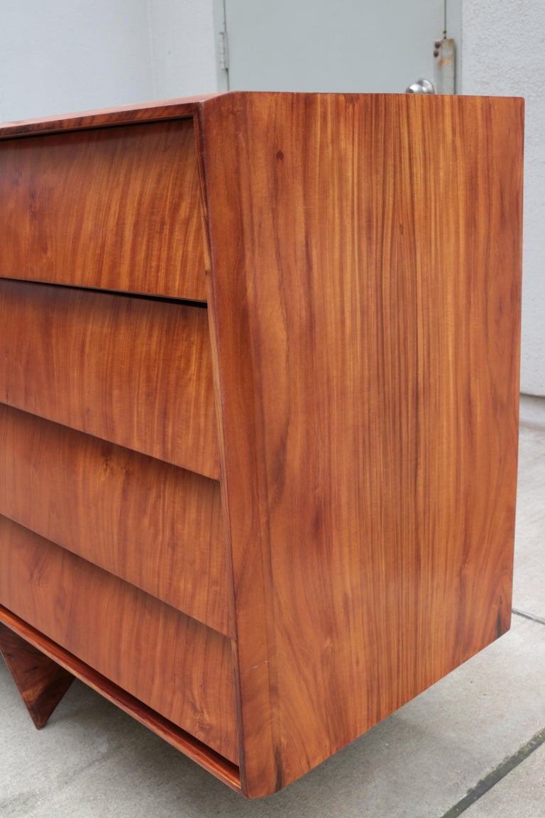 Mid-20th Century Carlo Hauner and Martin Eisler Designed Sideboard For Sale