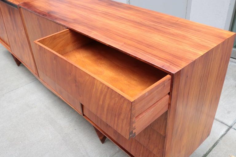Rosewood Carlo Hauner and Martin Eisler Designed Sideboard For Sale