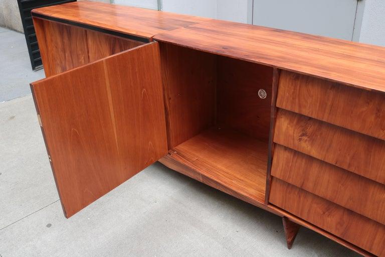 Carlo Hauner and Martin Eisler Designed Sideboard For Sale 1