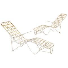 Carlo Hauner Martin Eisler Attributed Garden Chairs, Brazil, 1960