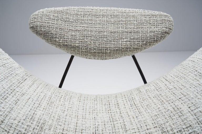 """Carlo Hauner & Martin Eisler """"Reversivel"""" Chair, Brazil, 1950s For Sale 3"""