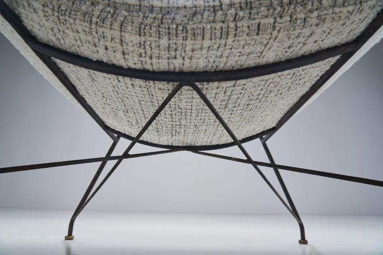 """Carlo Hauner & Martin Eisler """"Reversivel"""" Chair, Brazil, 1950s For Sale 8"""