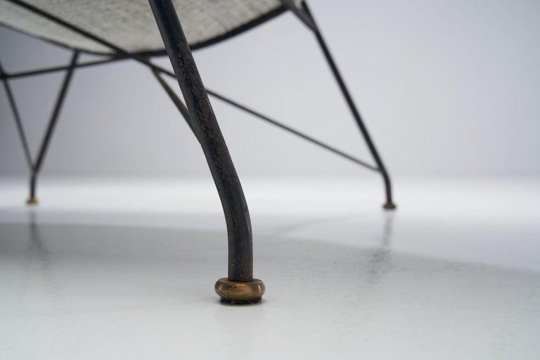 """Carlo Hauner & Martin Eisler """"Reversivel"""" Chair, Brazil, 1950s For Sale 9"""
