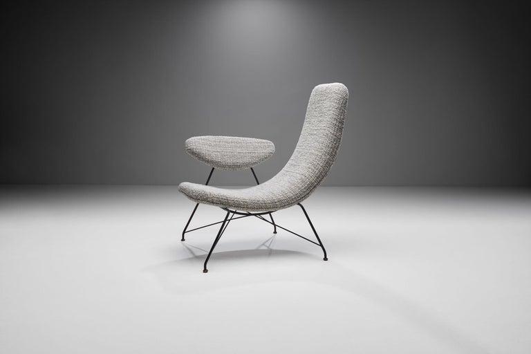 """Mid-Century Modern Carlo Hauner & Martin Eisler """"Reversivel"""" Chair, Brazil, 1950s For Sale"""