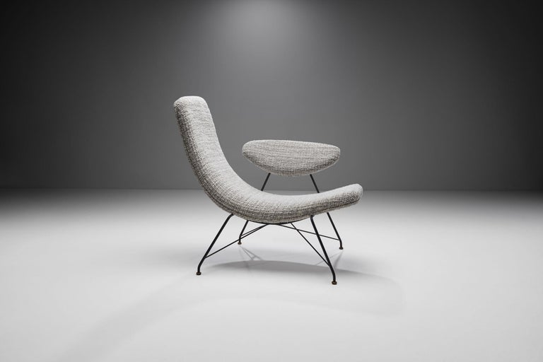 """Brazilian Carlo Hauner & Martin Eisler """"Reversivel"""" Chair, Brazil, 1950s For Sale"""