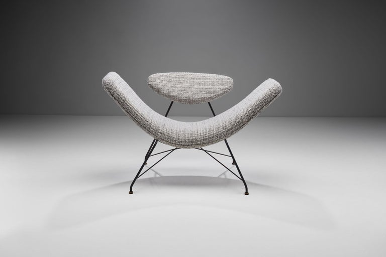"Carlo Hauner & Martin Eisler ""Reversivel"" Chair, Brazil, 1950s In Good Condition For Sale In Utrecht, NL"