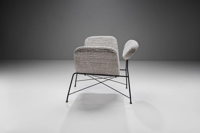 "Mid-20th Century Carlo Hauner & Martin Eisler ""Reversivel"" Chair, Brazil, 1950s For Sale"