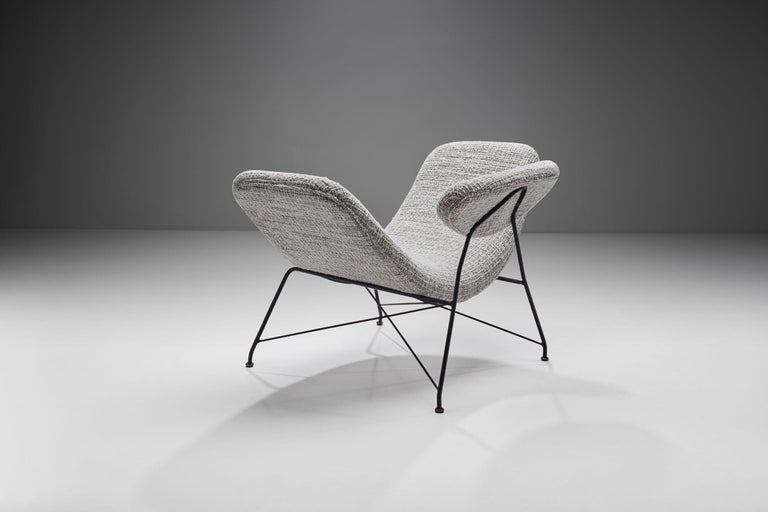 "Metal Carlo Hauner & Martin Eisler ""Reversivel"" Chair, Brazil, 1950s For Sale"