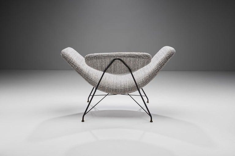 """Carlo Hauner & Martin Eisler """"Reversivel"""" Chair, Brazil, 1950s For Sale 1"""