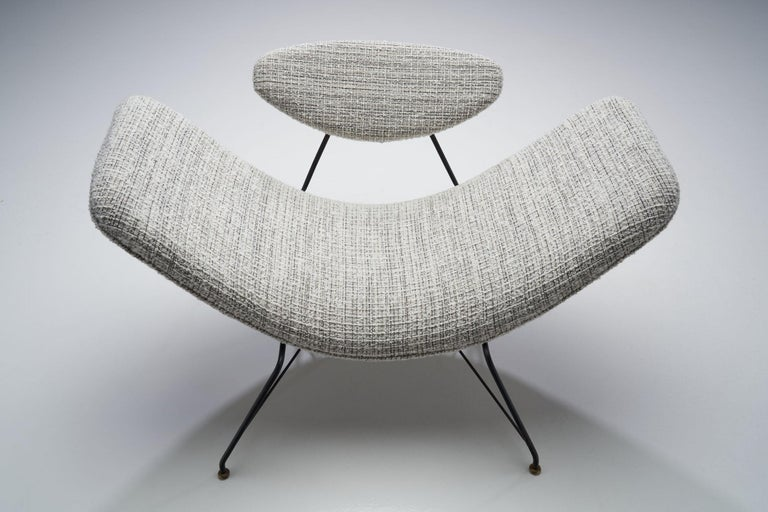 "Carlo Hauner & Martin Eisler ""Reversivel"" Chair, Brazil, 1950s For Sale 2"