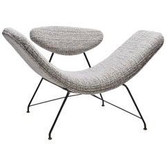 """Carlo Hauner & Martin Eisler """"Reversivel"""" Chair, Brazil, 1950s"""