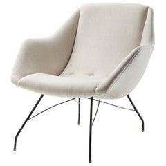 "Carlo Hauner & Martin Eisler ""Shell"" Lounge Chair, Brazil, circa 1955"