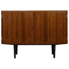 Carlo Jensen Rosewood Brown 1970s Cabinet Danish Design