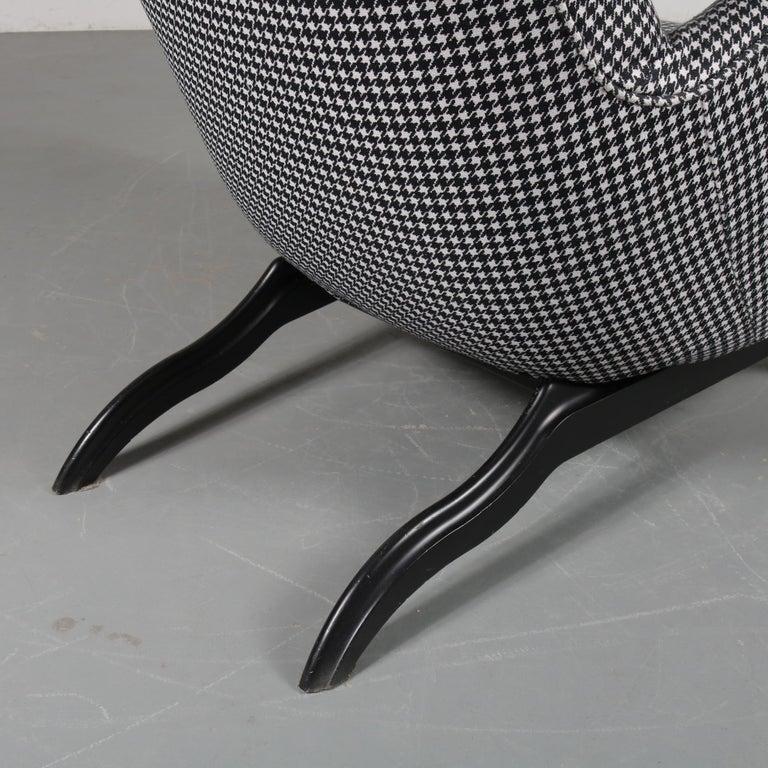 """Carlo Mollino """"Ardea"""" Chair for Zanotta, Italy, 1980 For Sale 6"""