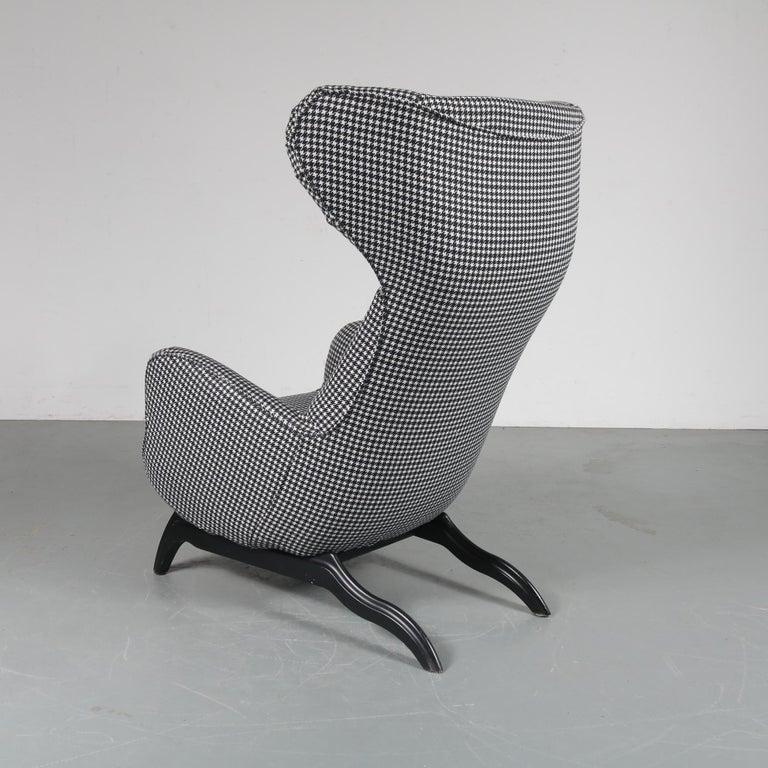 """Carlo Mollino """"Ardea"""" Chair for Zanotta, Italy, 1980 In Good Condition For Sale In Amsterdam, NL"""