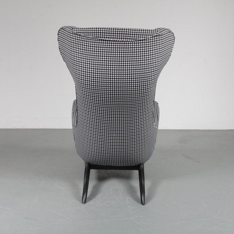 """20th Century Carlo Mollino """"Ardea"""" Chair for Zanotta, Italy, 1980 For Sale"""
