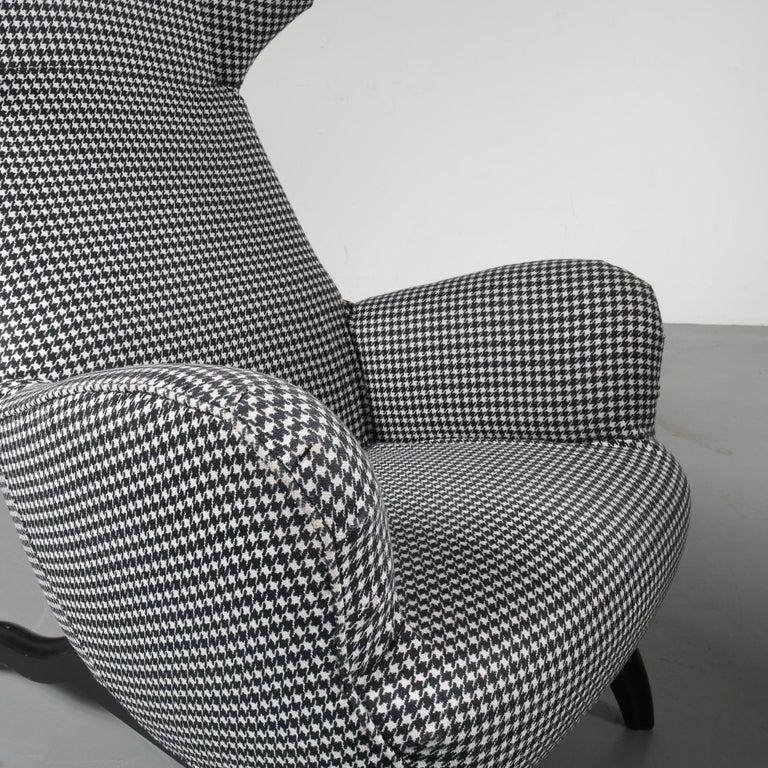 """Carlo Mollino """"Ardea"""" Chair for Zanotta, Italy, 1980 For Sale 1"""