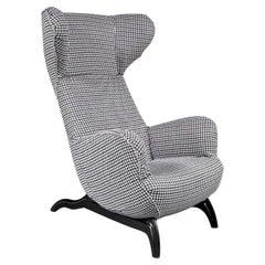 """Carlo Mollino """"Ardea"""" Chair for Zanotta, Italy, 1980"""