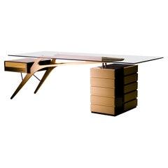 Carlo Mollino Cavour Desk by Zanotta