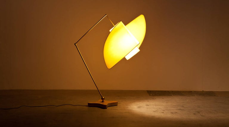 Italian Carlo Mollino Floor Lamp For Sale