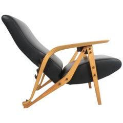 Carlo Mollino Gilda Lounge Chair by Zanotto Italy