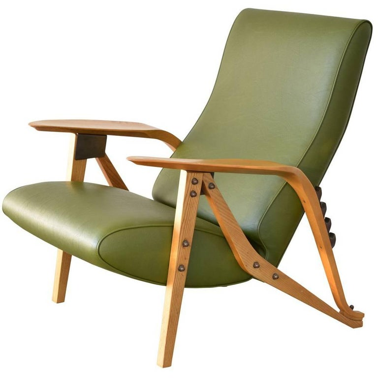 Carlo Mollino Lounge Chair For Sale
