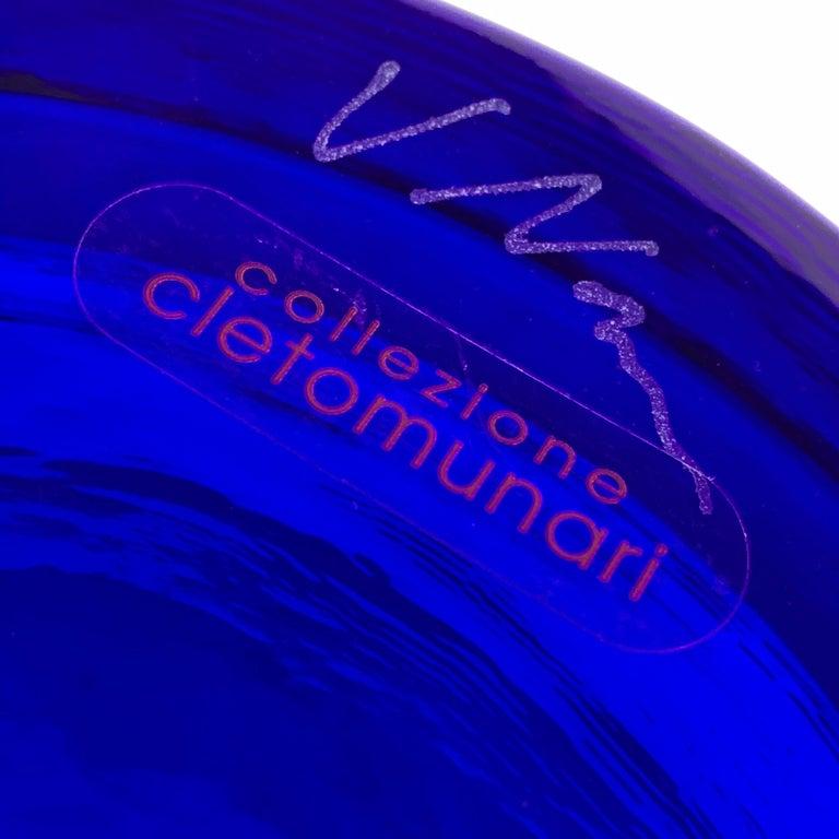Blue Murano glass