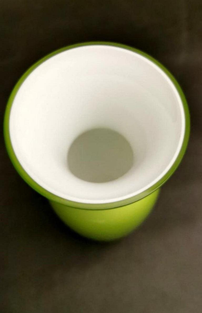 Carlo Nason Design Vase Blown and Jacketed Murano Glass 2