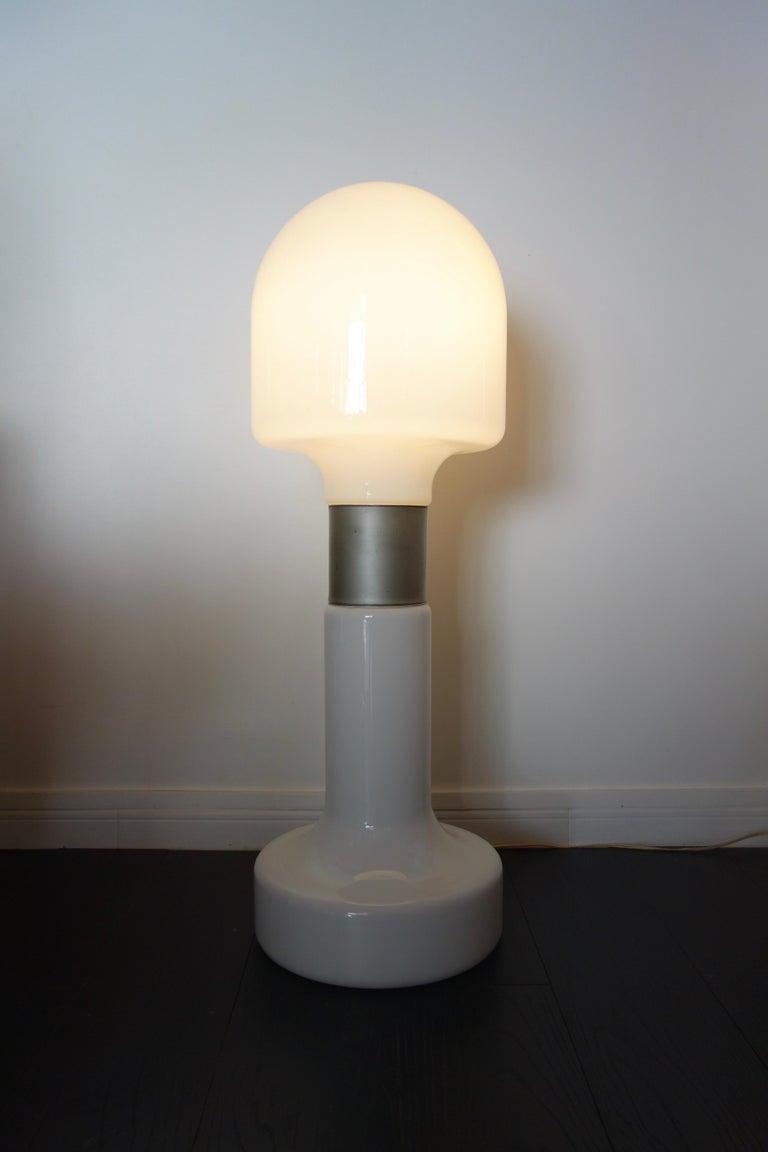 Italian Carlo Nason Floor Lamp by Mazzega Italy Murano, 1970s For Sale