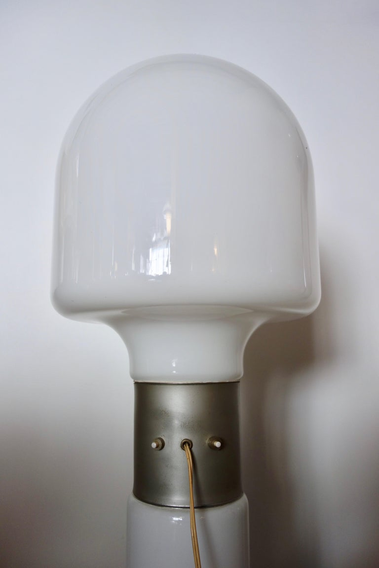 Hand-Crafted Carlo Nason Floor Lamp by Mazzega Italy Murano, 1970s For Sale
