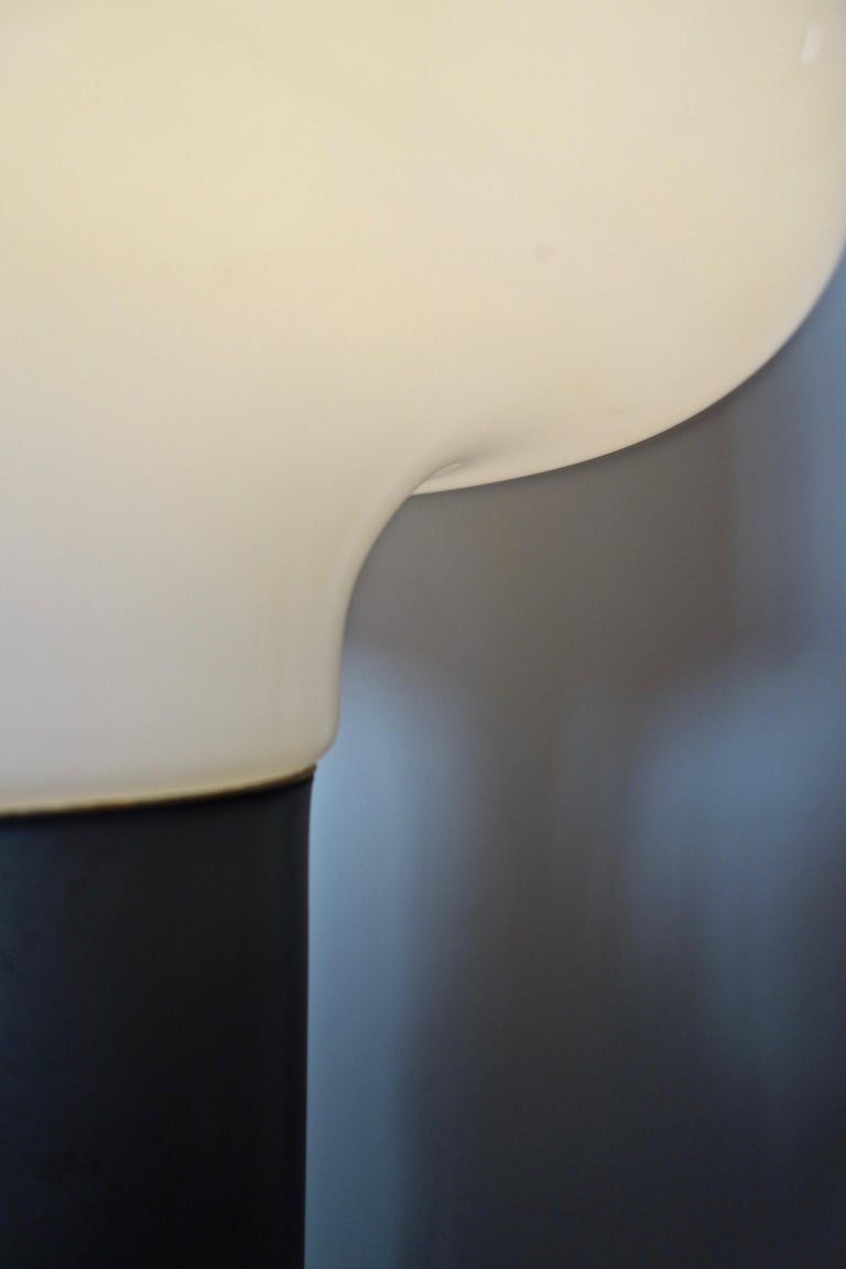 Carlo Nason Floor Lamp by Mazzega Italy Murano, 1970s For Sale 1