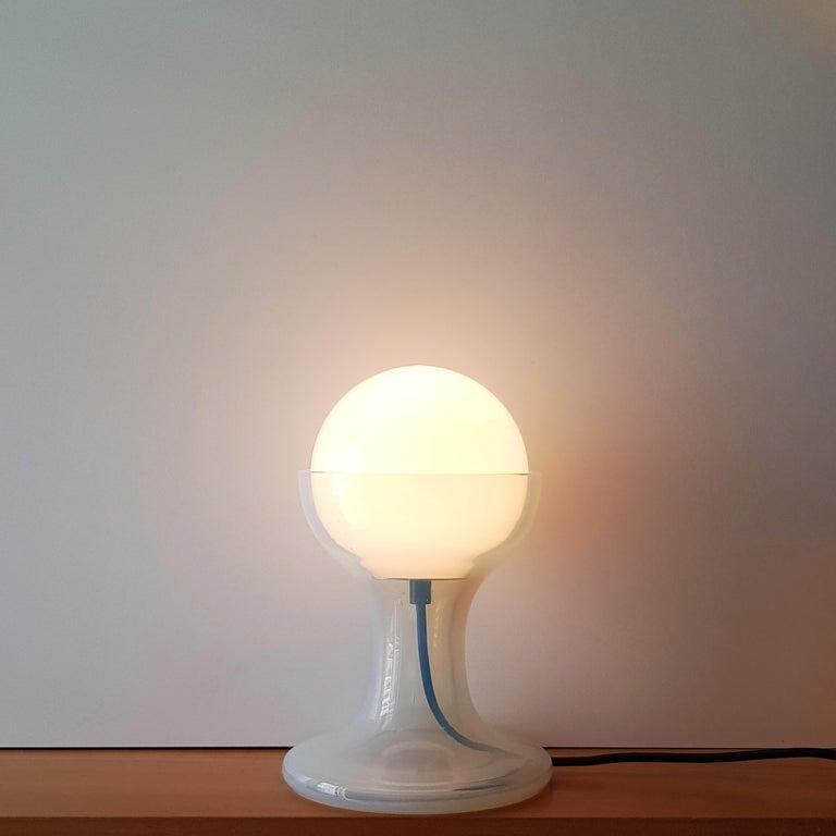 Mid-20th Century Mid-Century Modern Carlo Nason Murano Table Lamp for Mazzega, Italy, 1970