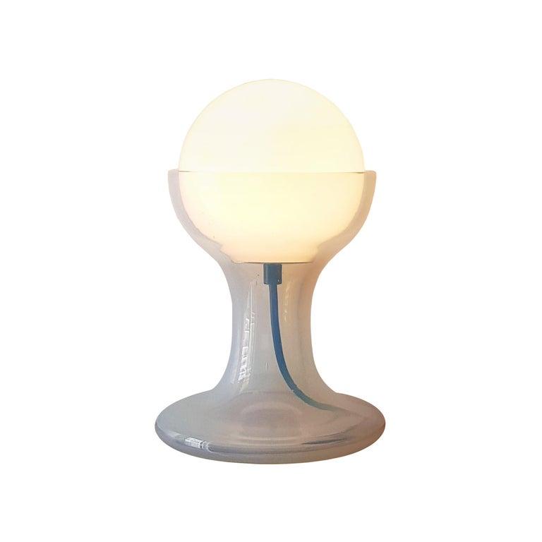 Mid-Century Modern Carlo Nason Murano Table Lamp for Mazzega, Italy, 1970