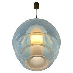 Carlo Nason Mazzega Mod LS134 Ceiling Lamp Murano Glass, Italy, 1969